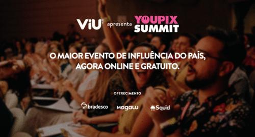 YOUPIX Summit: mais de 40 horas de conteúdo online e gratuito